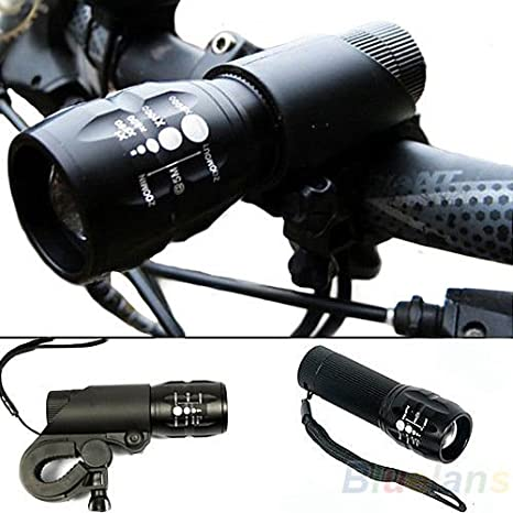 240 Lumen Q5 Cycling Bicycle LED Front Head Light Torch Lamp with Mount $S1