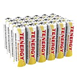 Tenergy AA Rechargeable NiCD Battery, 1.2V 1000mAh High Capacity AA Batteries for Solar Lights, Garden Lights, Yard Light 24-Pack