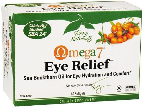 Terry Naturellement Omega-7 Dégagement oculaire, 60 gélules