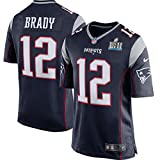#10: Tom Brady New England Patriots Nike Youth Super Bowl LII Bound Game Jersey – Navy