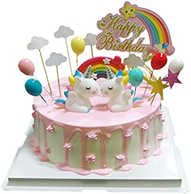 Fantastic Bluvast Cake Decoration 17 Pieces Cake Toppers For Kids Boys Personalised Birthday Cards Veneteletsinfo