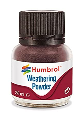 Humbrol AV0007 Weathering Powder Dark Earth Model Kit