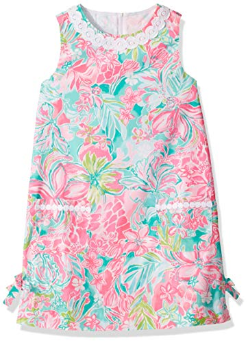Lilly Pulitzer Girls' Big Little Lilly Classic SHIF Multi HOT ON The Scene, -