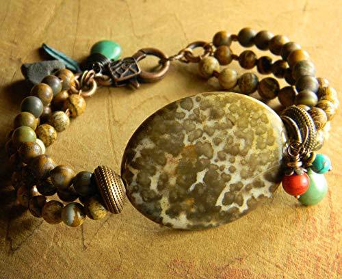 Jasper Multi-Strand Bracelet