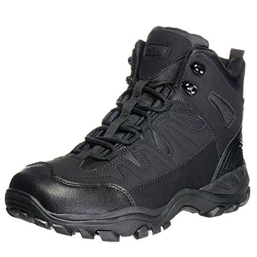 AmeriTac 6 Striker Elite Work Outdoor Tactical Mens Black Boots
