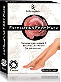 #1: Foot Peel Mask 2 Pack for Smooth Soft Touch Feet - Peeling Away Calluses - Dead Skin Remover - Exfoliating Off Foot Mask for Baby Soft Silk Feet - Gel Socks Booties - Aloe Extract - Natural Rose Scent