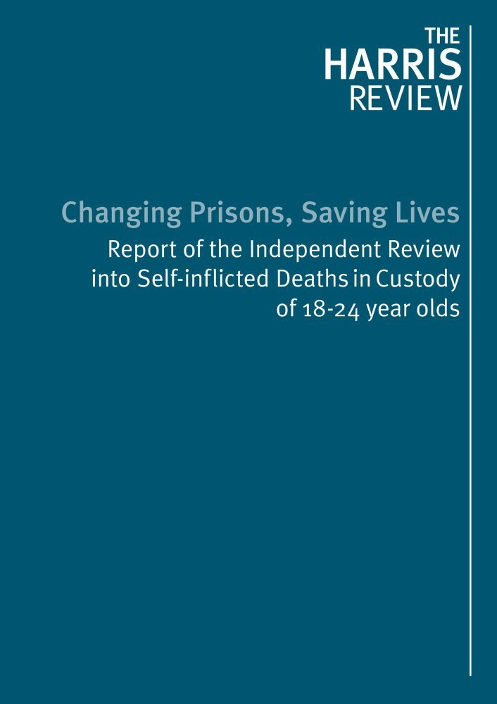 Download Changing prisons, saving lives: report of the Independent Review into self-inflicted deaths in custody of 18-24 year olds (Cm.) ebook
