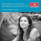 Anastasia Seifetdinova plays Clementi, Mussorgsky & Schumann