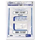 PENTEL PM Company Security 58053 Triple Protection Tamper-Evident Deposit Bags, 20 x 20 Inches, Clear, 50/Pack (PMC58053)