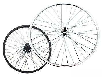 RMS - Rueda trasera, para bicicleta touring/MTB de 26 pulgadas (66 cm), 6-7 velocidades, perno roscado trasero: Amazon.es: Deportes y aire libre