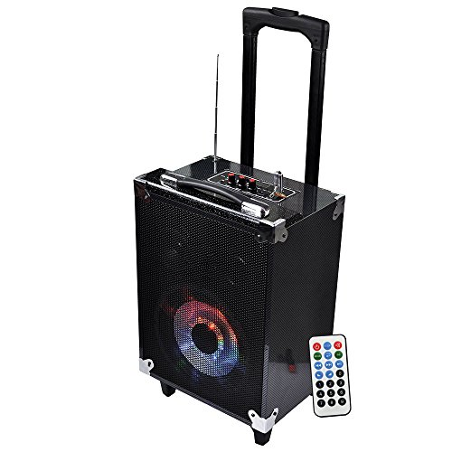 Technical Pro WASP680 8in Bluetooth Portable Speaker System