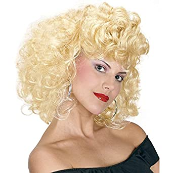 Vintage Hair Accessories: Combs, Headbands, Flowers, Scarf, Wigs Cool 50s Girl Wig $9.42 AT vintagedancer.com