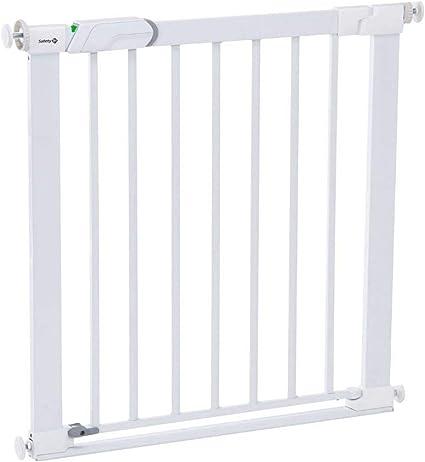 /White Safety 1st U-Pressure Barrier Metal/