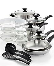 24 Piece Kitchen Cookware Set