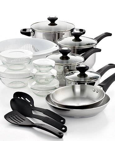 Amazon.com: Cocina Utensilios de cocina 24 piezas: Kitchen ...