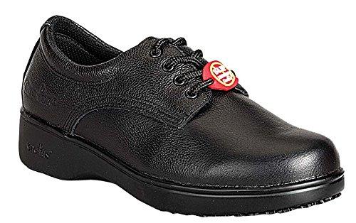 Cactus Women's Black Slip-resistant Outsole Shoe B00DCEM0EU 9.5 B(M) US
