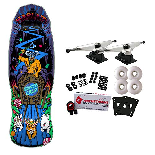 skateboard complete haslam snack warrior