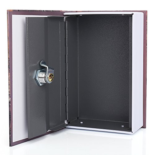 HENGSHENG Dictionary Secret Book Hidden Safe With Key Lock Book Safe Love Style Small Size 7.1x4.6x2.2 inches by HENGSHENG (Image #4)