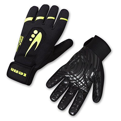 Tenn Unisex Cold Weather Plus Gloves - Black - 2XL (Womens: 4XL) (Plus Black Gloves)