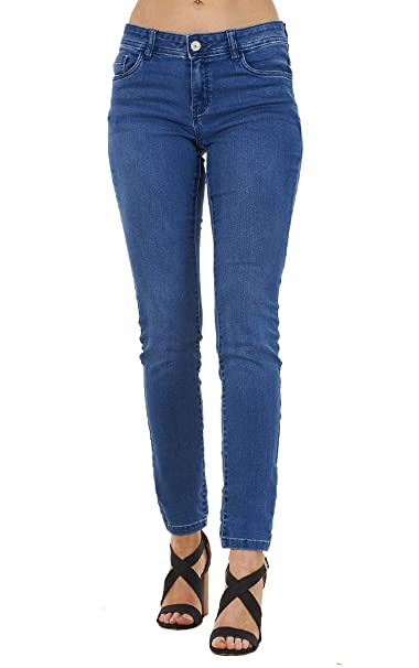 Ex High Street Pantalones Vaqueros elásticos para Mujer ...
