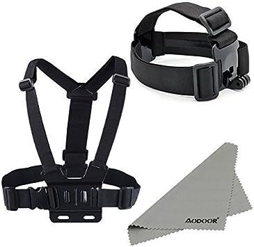 Aodoor cinturón de banda para la cabeza Berg + pecho correa del ...