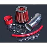 Red For 2PC 2011-2016 Chrysler 300 3.6L V6 Cold Air Intake Kit Filter