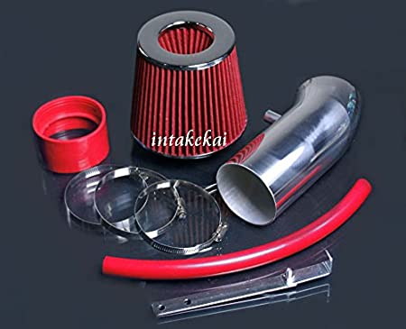 FILTER FOR 2011-2016 DODGE CHALLENGER CHARGER 2012-2014 CHRYSLER 300 6.4 6.4L HEMI SRT8 ENGINE PERFORMANCE AIR INTAKE KIT RED