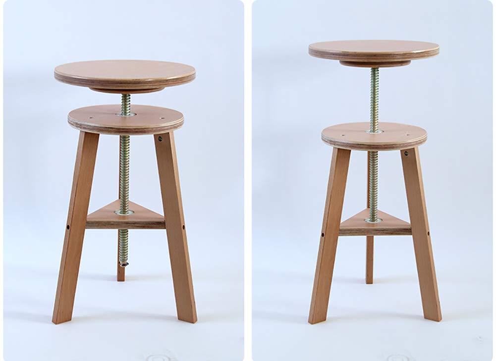 Sgabello da pittura in legno sollevabile round art easel studio