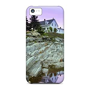 With Iphone 6 (4.5) - Pemaquid Point Lighthouse Maine Plastic iphone Forever Collectibles cover miao's Customization case