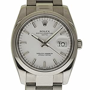 Rolex Date swiss-automatic mens Watch 115200 (Certified Pre-owned)