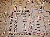 267 Bulk Printed Preschool and Kindergarten Sight Word Worksheets.