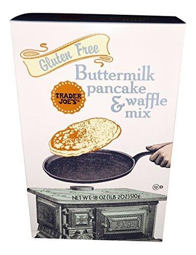 Trader Joe's Gluten Free Buttermilk Pancake & Waffle Mix (2 Box Pack) by Trader Joe's