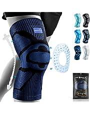 NEENCA Pasek na kolana,wsparcie rękawa uciskowego z podkładką żelową na rzepkę i stabilizatorami sprężyn bocznych,ochraniacz na kolana klasy medycznej do biegania,rozdarcia łąkotki,zapalenie stawów