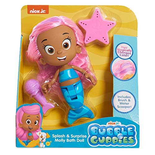 Bubble Guppies Splash and Surprise Molly Bath Doll
