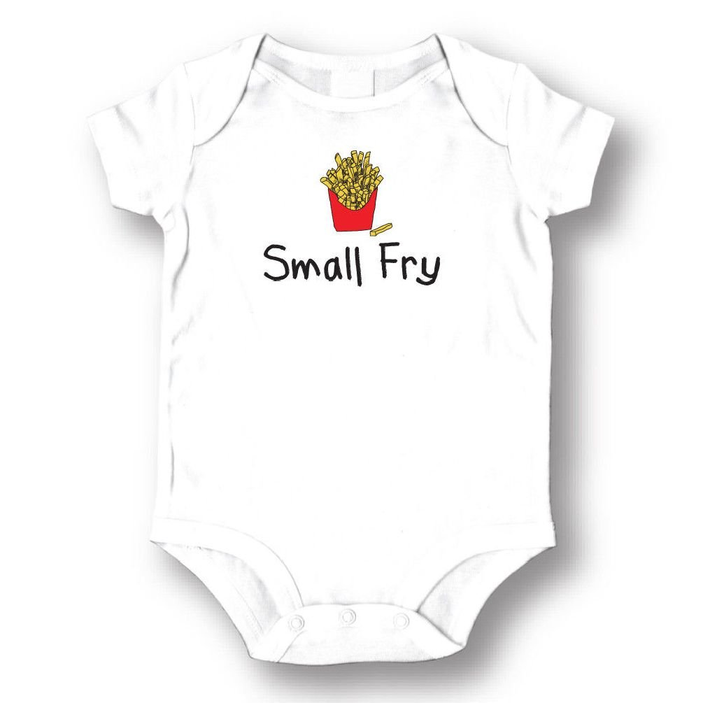 Dustin clothing series Small Fry French Fries Baby Boys Girls Toddlers Funny Romper 0-24M