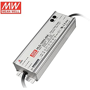 Mean Well HLG-100H-48A 100W 48V 2A Waterproof LED Power Supply Adjustable LED Driver with PFC