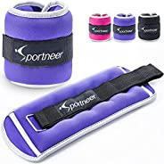 Sportneer Ankle Weights Wrist Arm Leg Weights for Women, Kids and Men, Strength Training Wrist and Ankle Weigh