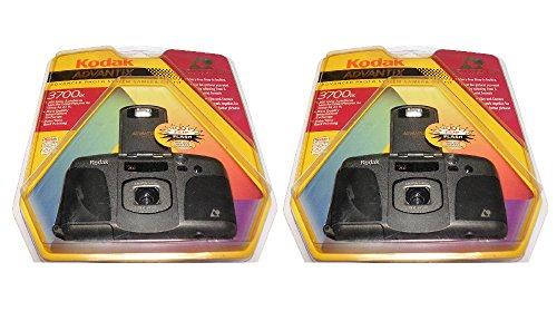 2-Pack Kodak Advantix 3700IX APS Film Camera Advanced Photo System Flash Date