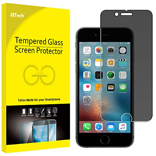 JETech Privacy Screen Protector for Apple iPhone 6 and iPhone 6s Anti-Spy Tempered Glass Film