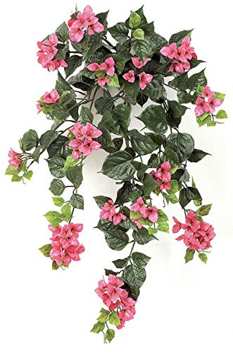 AUF001-36-Inch-Outdoor-Bougainvillea-Bush-Polyblend-UV-Foliage-Purple