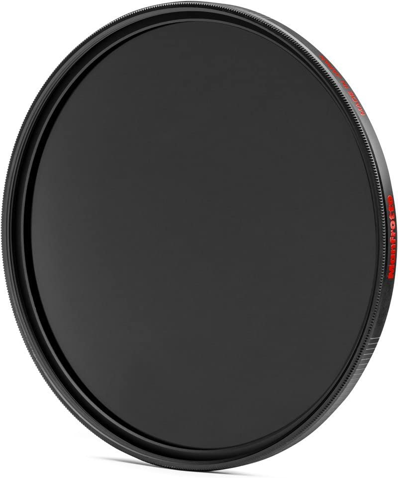 Manfrotto MFND64-62 Circular Lens Filter with 6 Stop of Light Loss 62mm Grey