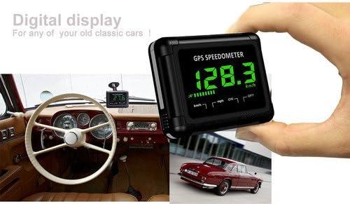 MITSUGAWA Pantalla LCD digital GPS inalámbrico Velocímetro-WDS02