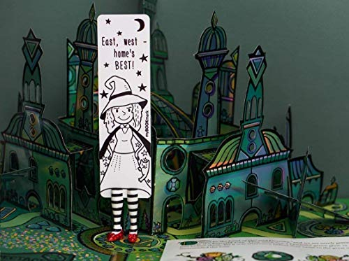 Wicked Witch babe bookmarks from BABES collection MyBookmark Ideal Mothers Day Gift For Everyone Truly Handmade and Crafted With - Paint Wizard