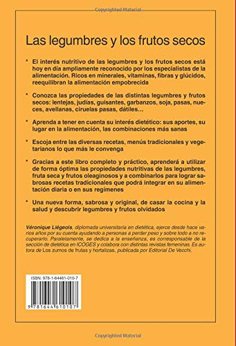 Las legumbres y los frutos secos. Una alternativa para comer sano (Spanish Edition): Véronique Liégeois: 9781644610107: Amazon.com: Books