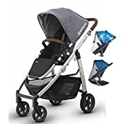 Uppababy Cruz 2017 Stroller with Rain Shield & Bug Shield (Gregory)