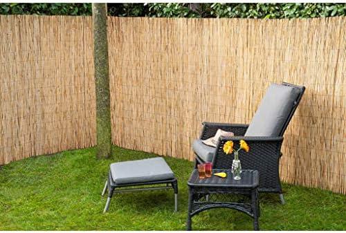 Nature 2X Vallas de Jardín Caña de Bambú Paneles de Jardín Bricolaje Accesorios Jardín Patio Terraza Decoración Panels Ocultación Privacidad 500x150cm: Amazon.es: Hogar
