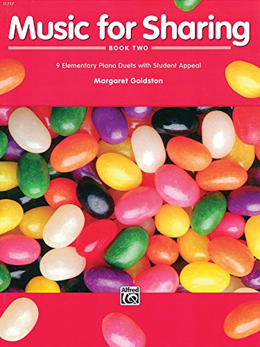 Sharing Music (Music for Sharing, Bk 2: 9 Elementary Piano Duets with Student Appeal)