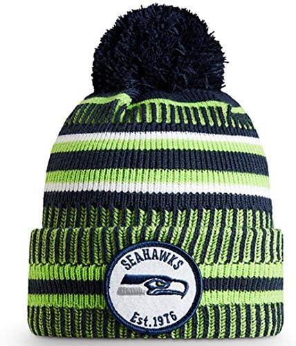 2019 サイドライン スポーツニット 冬用ポンポンニット帽