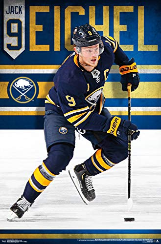 "Trends International Buffalo Sabres-Jack Eichel Wall Poster, 22.375"" x 34"", Multi"