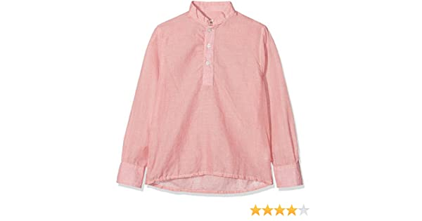 La Ormiga Polera Falso Liso Camisa, Rojo (Rojo 005), 6 años (Tamaño del Fabricante:6A) para Niños: Amazon.es: Ropa y accesorios